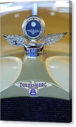 1926 Duesenberg Model A Boyce Motometer Canvas Print by Jill Reger