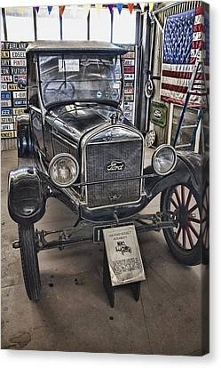 1926 Ford Model T Runabout Canvas Print by Douglas Barnard