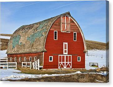 1927 Barn Canvas Print