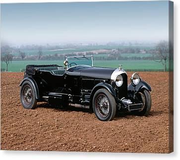 1927 Bentley 6.5 Litre 4-seat Tourer Canvas Print