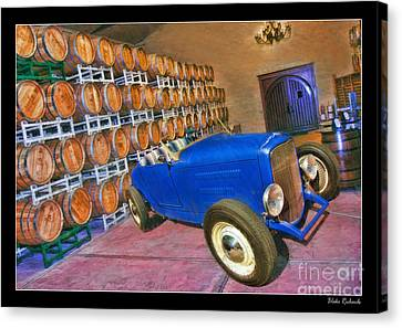 1927 Ford Roadster Canvas Print by Blake Richards