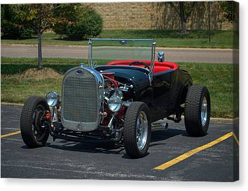1927 Ford Roadster Hot Rod Canvas Print by Tim McCullough