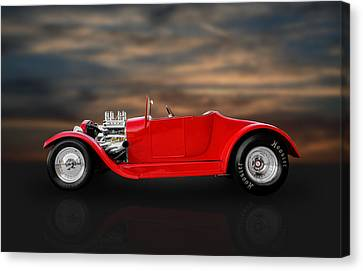 1927 Ford Roadster Kit Car Canvas Print by Frank J Benz