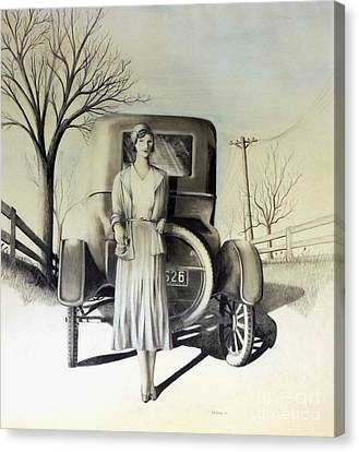 1928 Canvas Print by David Neace
