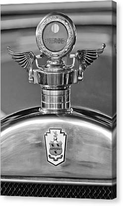 1928 Pierce-arrow Hood Ornament 2 Canvas Print by Jill Reger