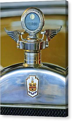 1928 Pierce-arrow Hood Ornament Canvas Print by Jill Reger