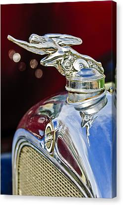 Mascots Canvas Print - 1928 Studebaker Hood Ornament 2 by Jill Reger