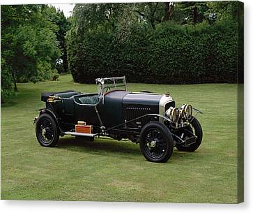 1929 Bentley 4.5 Litre Mulliner Tourer Canvas Print