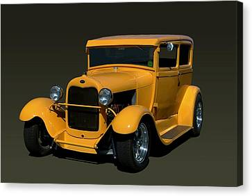 1928 Ford Model A Sedan Hot Rod Canvas Print