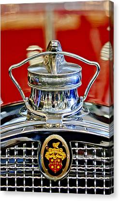 1929 Packard 8 Hood Ornament 2 Canvas Print by Jill Reger