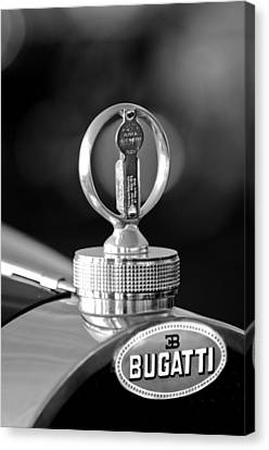 1930 Bugatti Hood Ornament Canvas Print by Jill Reger