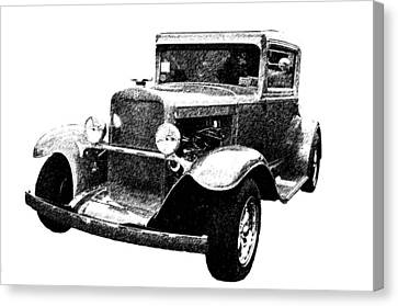 1930 Chevy Canvas Print by Guy Whiteley