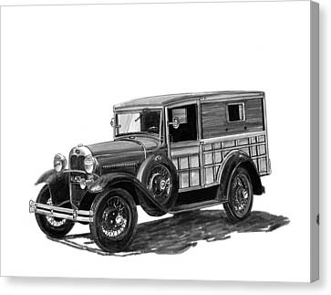 1930 Ford Special Delivery Canvas Print by Jack Pumphrey