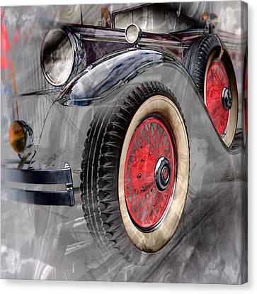 1930 Packard Canvas Print