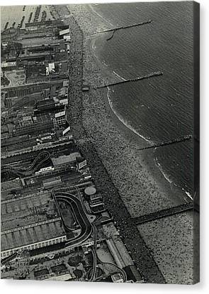 1931 Coney Island Looks Like Fun Canvas Print by Retro Images Archive