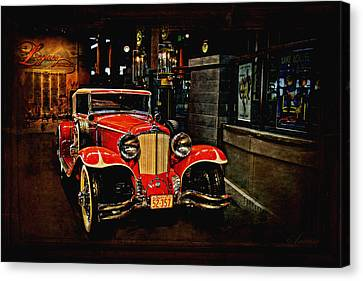 1931 Cord L-29 Canvas Print by Maria Angelica Maira
