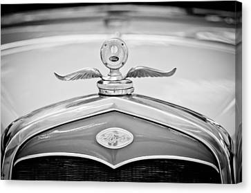 1931 Ford Emblem - Moto Meter Hood Ornament Canvas Print by Jill Reger