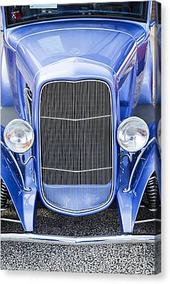 1931 Ford Model A Classic Car Front End In Color 3215.02 Canvas Print by M K  Miller
