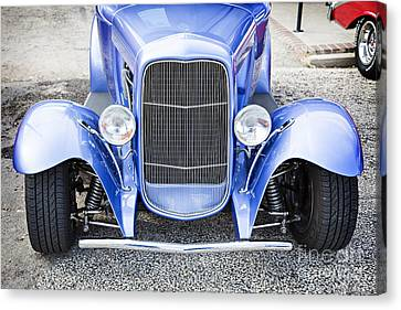 1931 Ford Model A Front End Classic Car In Color 3214.02 Canvas Print by M K  Miller