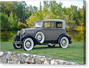 1931 Ford Model A Victoria IIi Canvas Print