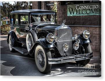 1931 Pierce Arrow Canvas Print by Kevin Ashley