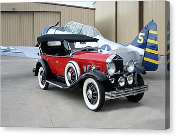 1931 Willys Knight Phaeton Sports Touring Canvas Print