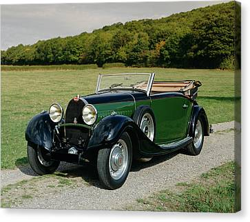 1932 Bugatti Type 49 3.2 Drophead Canvas Print by Panoramic Images