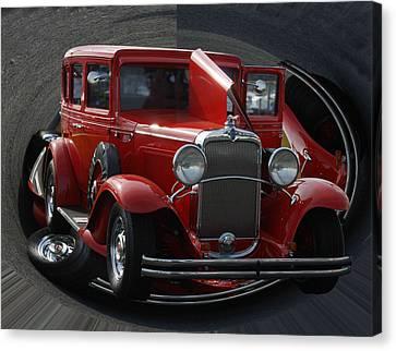 1932 Chevrolet Canvas Print by B Wayne Mullins
