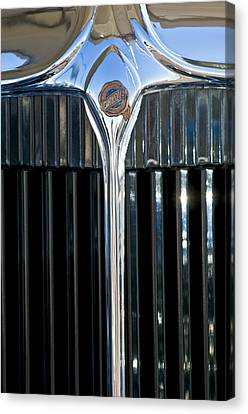 1932 Chrysler Hood Ornament Canvas Print