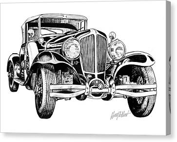 1930 Cord Canvas Print by Harry West