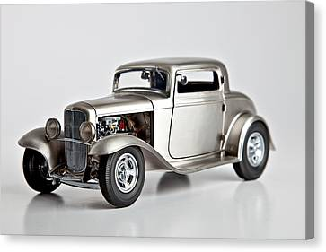 1932 Ford 3 Window Coupe Canvas Print by Gianfranco Weiss