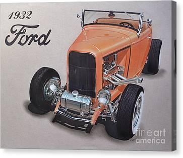 1932 Ford Canvas Print by Paul Kuras