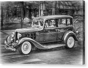 1932 Nash Sedan Canvas Print