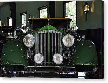 1932 Packard 903 Coupe Canvas Print by Richard Gregurich