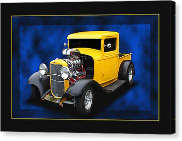 Canvas Print featuring the photograph 1932 Pickup by Keith Hawley
