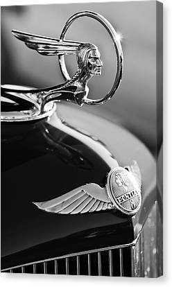 1933 Canvas Print - 1933 Pontiac Hood Ornament 4 by Jill Reger