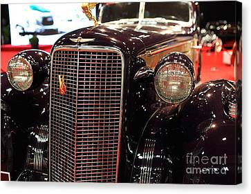 1934 Cadillac V16 Aero Coupe - 5d19876 Canvas Print by Wingsdomain Art and Photography