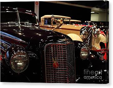 1934 Cadillac V16 Aero Coupe - 5d19877 Canvas Print by Wingsdomain Art and Photography