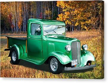 1934 Chev Pickup Canvas Print