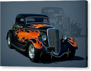 1934 Ford Hot Rod Canvas Print by Tim McCullough