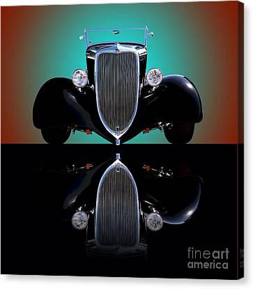 1934 Ford Phaeton Convertible Canvas Print by Jim Carrell