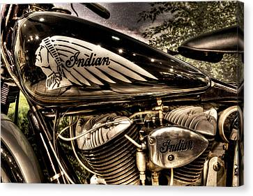 1934 Indian Chief Canvas Print