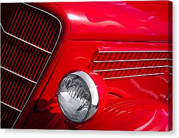 1935 Ford Humpback Canvas Print by David Patterson