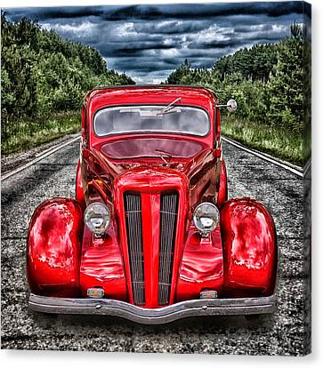 1935 Ford Window Coupe Canvas Print