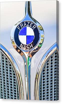 1935 Fraser Nash - Bmw 319 Roadster Emblem Canvas Print by Jill Reger