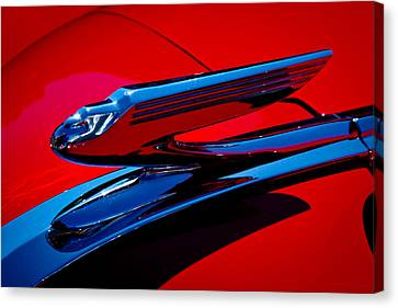 Chevy Coupe Canvas Print - 1936 Chevy Coupe by David Patterson