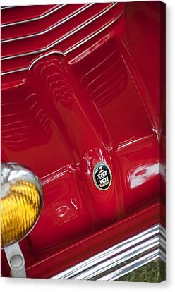 1936 Cord 810 Sportsman Grille Emblem Canvas Print by Jill Reger