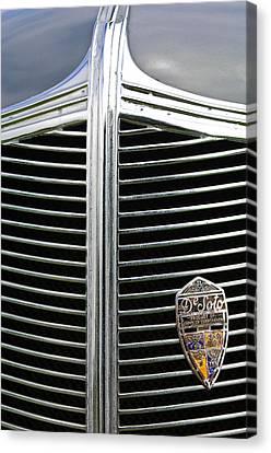 1936 Desoto Airstream Grille Emblem Canvas Print