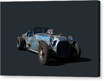 Canvas Print featuring the photograph 1936 Ford Speedster by Tim McCullough
