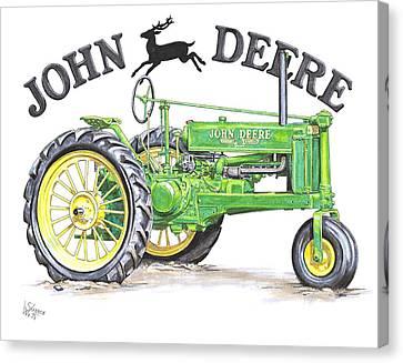 1936 John Deere Canvas Print